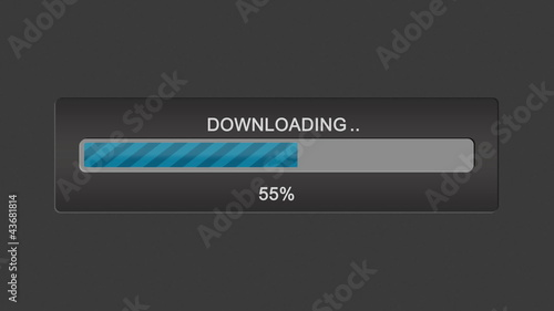 Download progress bar.
