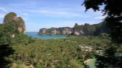 Railay beach, krabi. Thailand.