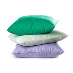 three pillows