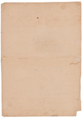 Altes Papier ca. 300 Jahre alt