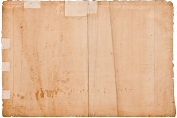 Hintergrundtextur antikes Papier ca. 300 Jahre alt
