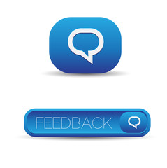Feedback button blue