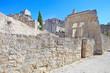 Les Baux de Provence ancient medieval village ruins. France, Eur