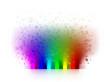 canvas print picture - farben bunt regenbogen