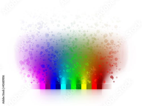 canvas print picture farben bunt regenbogen