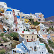 colors of Greece  - beautiful Santorini