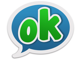Dialogue balloon - ok