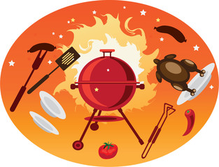 bbq objects