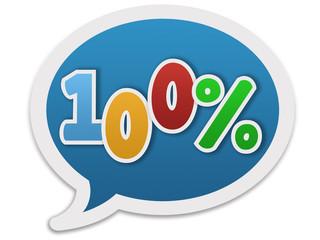 Dialogue balloon - 100%