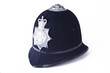 Leinwandbild Motiv A British Police Officer's Helmet