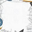 architect constructor designer background