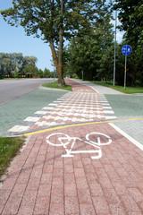 paved sidewalk