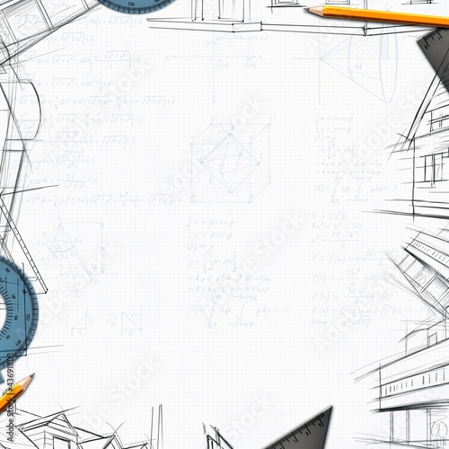 architect constructor designer background