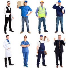 Collection of workers