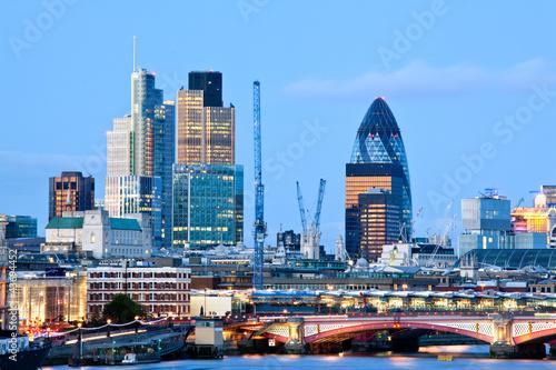 Foto op Aluminium Oude gebouw London Skylines