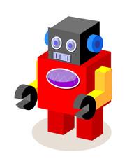 vector icon robot