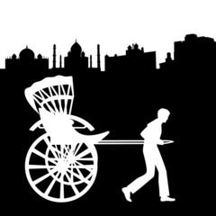 Rickshaw in India