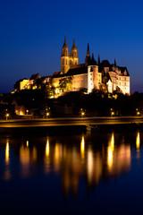 Albrechtsburg am Abend