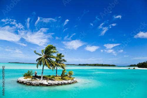 Fototapeten,meer,insel,french polynesia,wasser