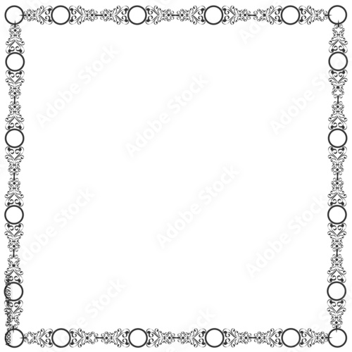 Decorative elegant frame