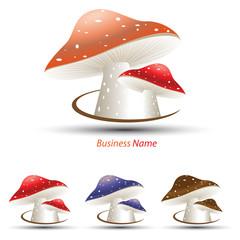 logo mushroom