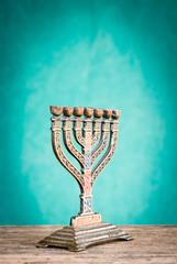 menorah - candelabro a sette bracci