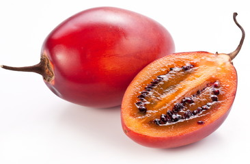 Tamarillo fruits with slice