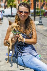 Un Chihuahua a Manerba