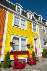 St John's Colourful Clapboard Houses