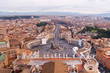 Panorama of Vatican and Rome