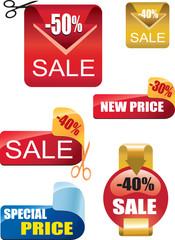 sale and price tags
