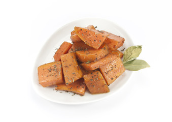 sweet potatoes dish
