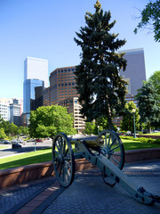 Cannon in Denver Colorado USA