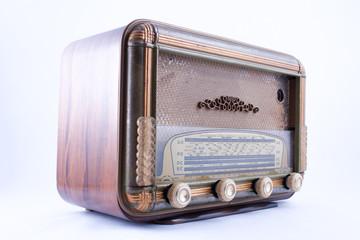 poste radio à lampes