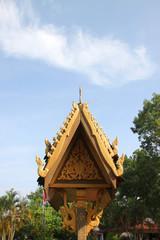 Art and architecture around Phra Kaew Pavilion, Vientiane