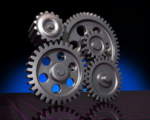 Five Gears on Black
