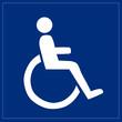 Schild - Behindertengerecht