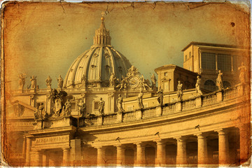St. Peter's Basilica - Rome - Vatican