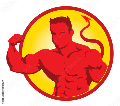 Devil bodybuilder