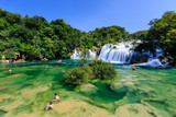 Fototapety National Park Krka and Cascade of Waterfalls on River Krka, Croa