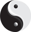 vector sign ying yang mesh