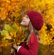 girl autumn