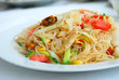 Rice spaghetti with fish sauce