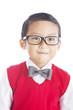 Nerd elementary student