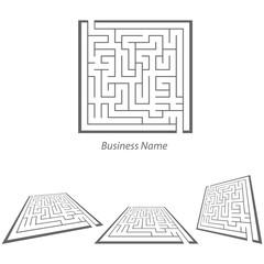 logo maze