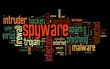 Spyware concept in tag cloud