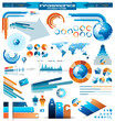 Detaily fotografie Premium infographics master collection: graphs, histograms...