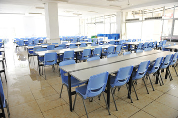 school cafeteria