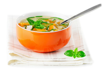 Bowl of vegetable Soup