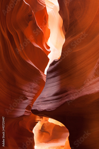 Antelope Canyon in the Navajo Reservation in Arizona